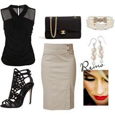 black.  #women's fashion. #style