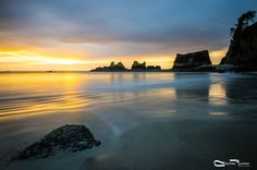 Sunrise on the Presqu'ile of Crozon Finistere Brittany
