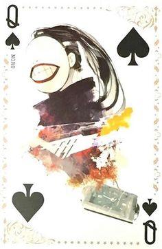 Noro ~ Queen of Spades ~ Tokyo Ghoul trump cards