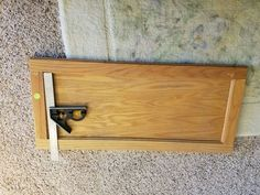 Turning a thrift store cabinet door into a beautiful decorative tray...for a whopping $1. I buy old, ugly, and dirty houses and flip them by myself! Come follow…