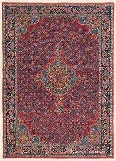 BIJAR, Northwest Persian Antique Rug - Claremont Rug Company