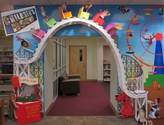 Not a book...but a really great kids library...Cliffside Park (N.J.) Free Public Library