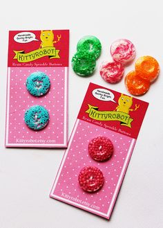 sprinkle buttons