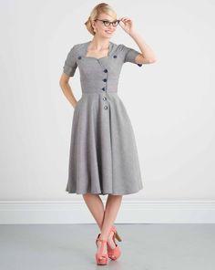 01f205736fc2 Kleid H W 2017  7951.K5   Mode zum Selbernähen im burda style Onlineshop.