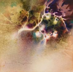 How One Artist Feeds Her Curiosity With Negative Painting - Artist's Network #abstract #watercolour