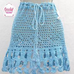 Linda saía azul turquesa, super na moda, cheia de detalhes, sobre encomenda todas as cores e tamanhos
