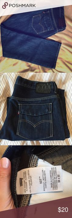 Men's 527 Levi jeans Men's Levi jeans. 527 with flap back pockets. Perfect condition. Worn handful of times. No damages Levi's Jeans Straight Leg