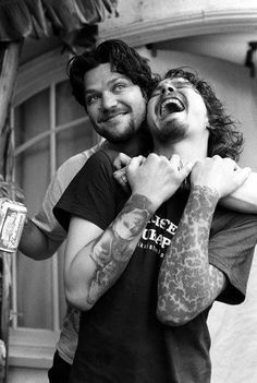 Tattoos, ville valo and bam margera image on We Heart It Bam Margera, Boys Are Stupid, Ville Valo, Stuff And Thangs, Him Band, Pure Beauty, Beautiful Celebrities, Gorgeous Men, Music Stuff
