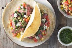 Skirt Steak Chimichurri Tacos   Tasty Kitchen: A Happy Recipe Community!