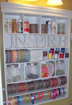 pink craft room - Google Search