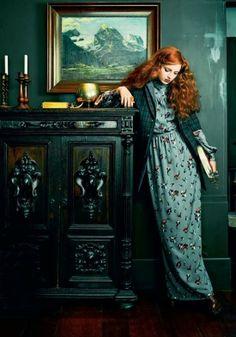 Cool Chic Style Fashion:#editorial Allure.ru  Nastya Pindeeva ph. Chris Craymer