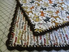 Flannel Baby Blankets | Sew Forth and Sew On