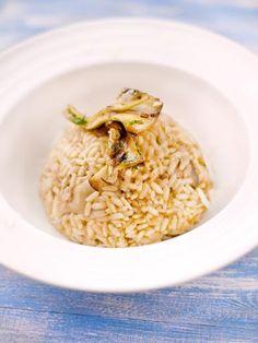 Risotto aux champignons #risotto #champignons #automne #Marmiton #recette