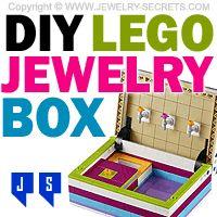 ►► DIY LEGO JEWELRY BOX ►► Jewelry Secrets