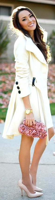 I totally have this coat and i love it - mine was likely cheaper from dots - high low and easily washable - looks good as new