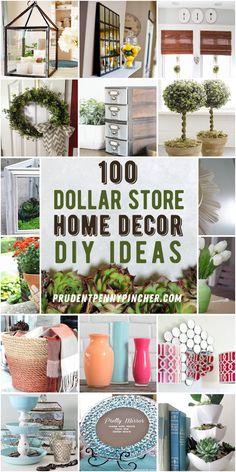 Diy Crafts For Home Decor, Easy Home Decor, Diy Garden Decor, Cheap Home Decor, Tree Crafts, Home Craft Ideas, Home Decor Ideas, Diy Home Projects Easy, Homemade Home Decor