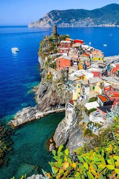 The Most Dazzlingly Picturesque Villages in Italy : Best Small Towns to Visit in Italy: Vernazza, Positano, Corinaldo - Thrillist Leave it all behind. Cinque Terre Italia, Seaside Village, Romantic Destinations, Romantic Travel, Travel Destinations, Beautiful Places To Travel, Wonderful Places, Travel Aesthetic, Mexico Travel