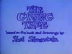 The Giving Tree Video