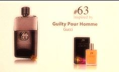 # 63 inspired by Guilty Pour Homme  50 ml