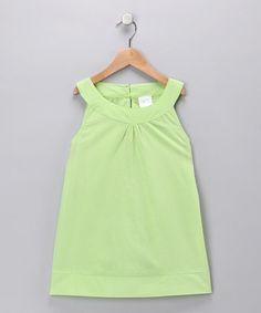 Green Tunic - Toddler & Girls