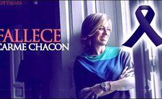 ÚLTIMA HORA | Muere la socialista Carme Chacón | Qué en paz descanse 1971-2017