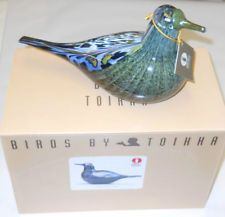 Oiva Toikka One Of The Most Gorgeous Annual Bird Song Trush 1997 Finland NIB