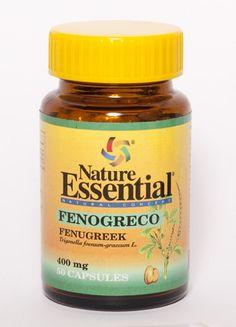 "Fenogreco 50 cápsulas de 400 mg. ""Anemias"" Nature Essential imágenes  $5.45"