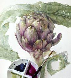 Elaine Searle #watercolor jd