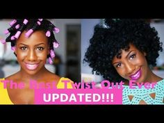 ▶ The Best Twist Out Ever!!! (Updated) - YouTube