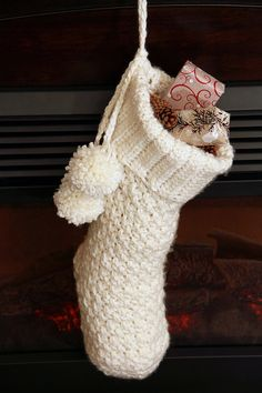 Free crochet patterns free christmas stocking crochet patterns crochet pattern brighton christmas stocking crochet christmas stocking pattern with video support fandeluxe Choice Image