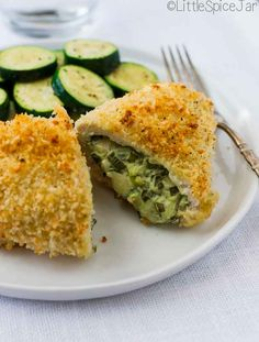 Chicken Breasts Stuffed With Spinach and Cheese