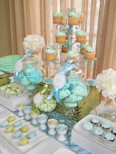 Chic & Modern Baptism Party ~ Featured Party | Seshalyn's Party Ideas