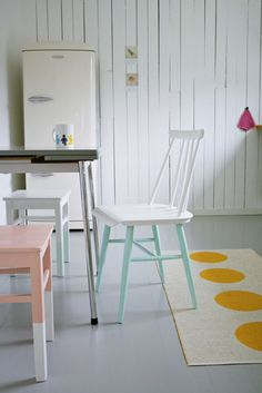 MøbelPøbel: Kjøkken Pinnestol