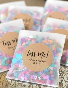 Wedding Day Wedding Confetti Wedding Confetti Bags Confetti Toss - Details: - Minimum purchase of (sold in quantities of - Can purchase either: - Bags Wedding Tips, Diy Wedding, Wedding Ceremony, Dream Wedding, Wedding Day, Wedding Details, Budget Wedding, Rustic Wedding, Wedding Venues