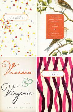 book cover inspiration via Breanna Rose - polka dots are especially festive