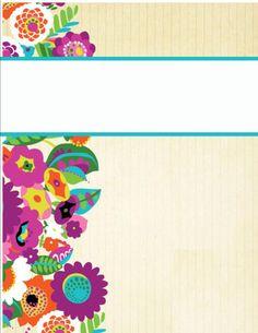 binder covers44 http://happilyhope.wordpress.com/2013/07/25/my-cute-binder-covers/