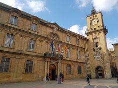 Aix en Provence Hotel de ville #hoteldeville #mairie #aixenprovence #histoire #patrimoine #villes