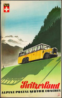 """a vintage """"bus"""" advertising!"""