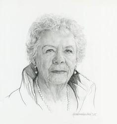 Portrettekening in particuliere opdracht door Kees wennekendonk