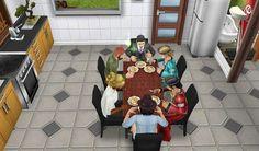 Yemek vakti. SimsFreePlay