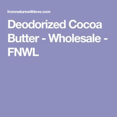 Our premium quality Deodorized Cocoa Butter is a pure, crushed cocoa butter obtained from the cacao bean. We offer a wide range of certified organic and conventional ingredients for personal care formulation. Bulk and wholesale pricing. Cacao Beans, Carrier Oils, Cocoa Butter, Deodorant, Pure Products, Coffee, Kaffee, Cup Of Coffee, Coffee Art