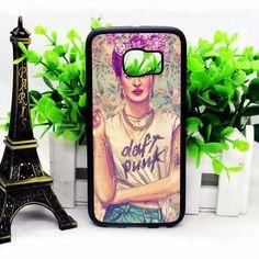 Frida Kahlo Daft Punk Samsung S6 Cases haricase.com