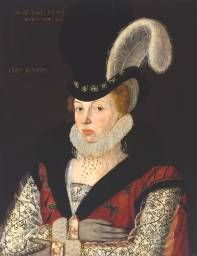 'A Young Lady Aged 21, Possibly Helena Snakenborg, Later Marchioness of Northampton', British School 16th century | Tate