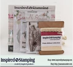 It's blog candy week here at inspired by stamping. Pin this photo for a chance to win these goodies. Winner will be announced on our blog Monday April 13th!