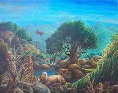 valley of the goats by rodulfo.deviantart.com on @DeviantArt