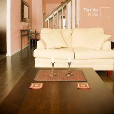 Las tardes siempre son más agradables cuando se ilumina de forma natural una habitación con tonalidades naranja.