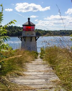 Squirrel Point Lighthouse, Kennebec River, Arrowsic, Maine