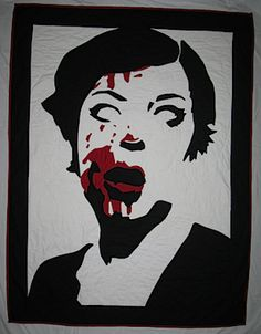 Zombie Quilt - This may be one of the most awesome things I've ever seen