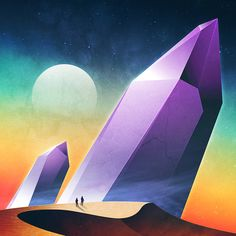 Impressive new series of futuristic digital illustrations entitled NeoWave Series, by illustrator James White. James White transferring us in a new planet with… James White, Arte Sci Fi, New Retro Wave, Retro Waves, Vaporwave, Psychedelic Space, 70s Sci Fi Art, Art Series, Out Of This World