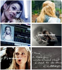 Clarke Griffin and Abby Griffin || The 100 || Eliza Jane Taylor and Paige Turco